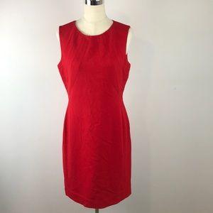 Tamari red shift dress